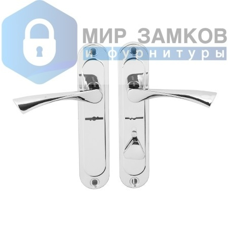 Ручки на планке Avers HP-42.0123-S-C-CR-R